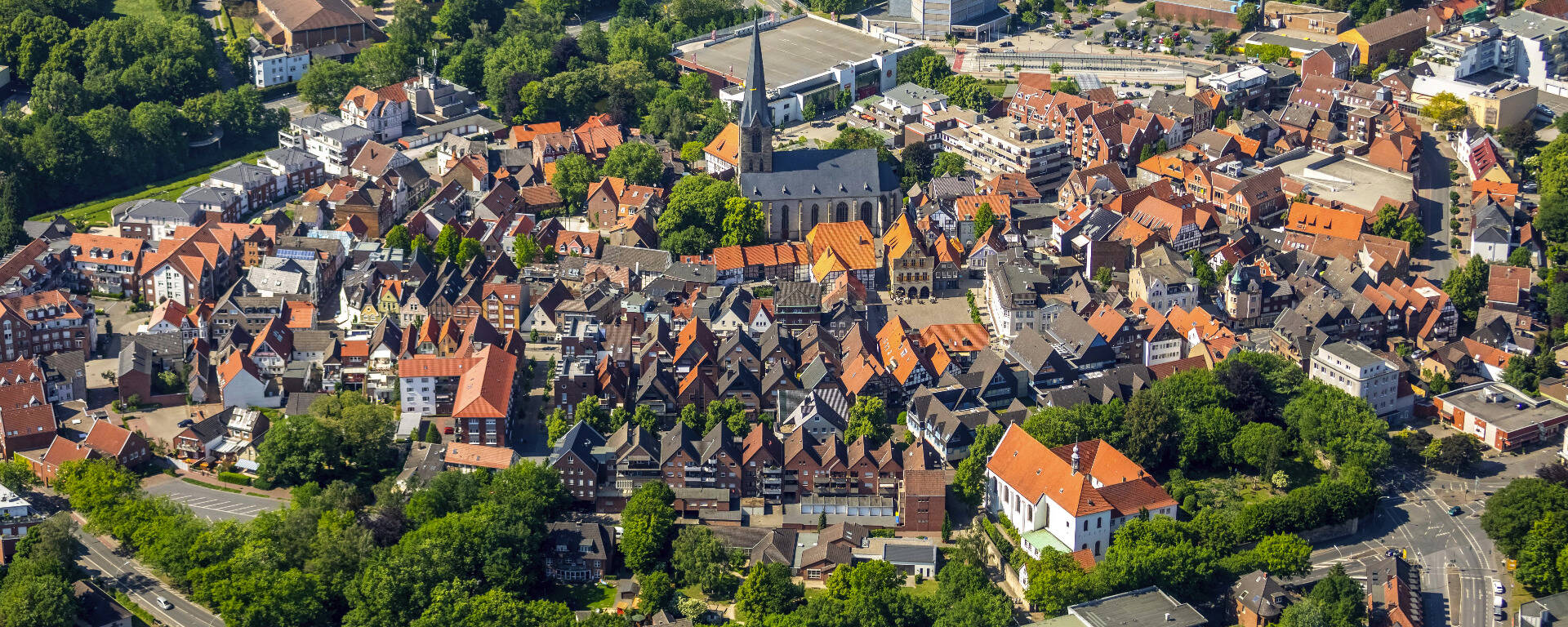 Stadt der Stadt Müssen Dampffahrer Wasserhaken